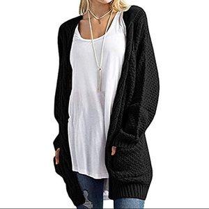 Sweaters - Black Sweater Cardigan